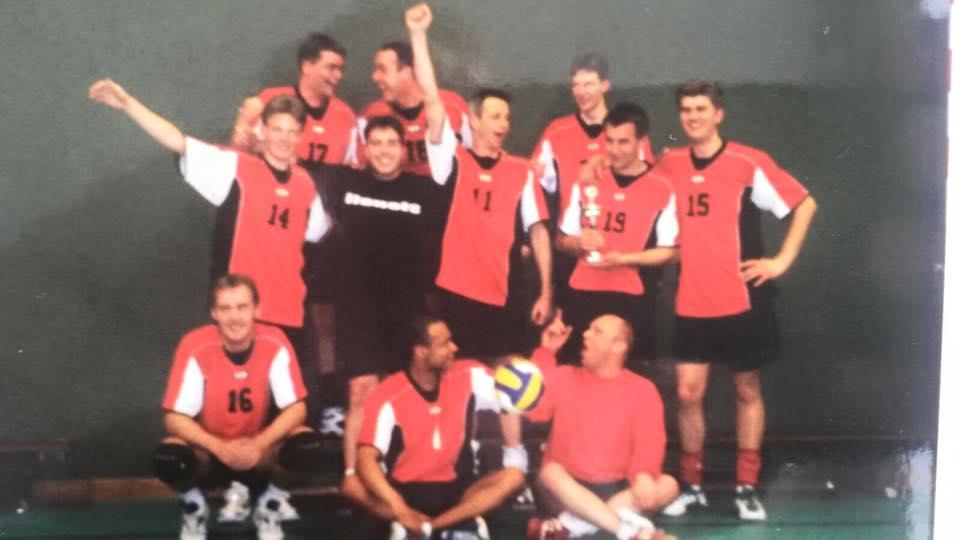 heren 2 kampioen 2002-2003